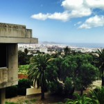 Vista de Las Palmas de Gran Canaria desde la Escuela de Arquitectura
