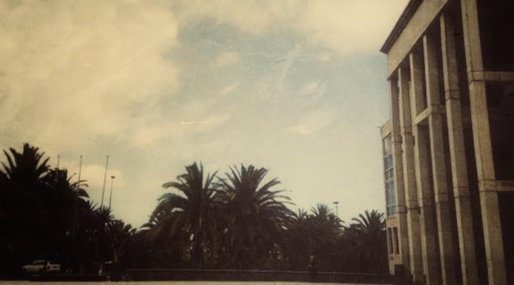 Entrada a la Escuela de Arquitectura de Las Palmas de Gran Canaria