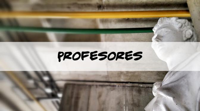 Información de interés para el Profesorado de la Escuela de Arqutiectura