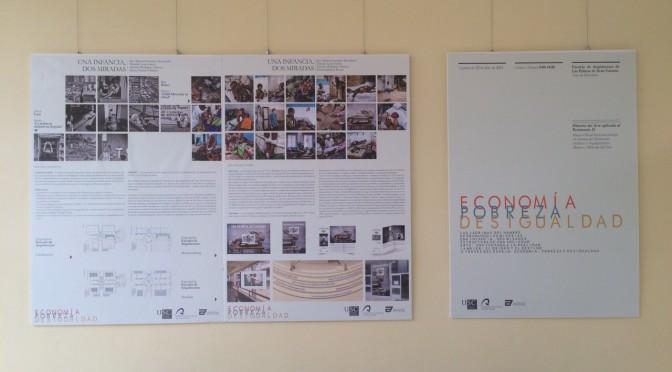 """Panel exposición """"Economía, pobreza, desigualdad"""""""