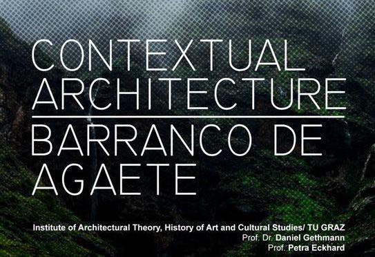 20170320 Workshop Contextual Architecture Barranco de Agaete