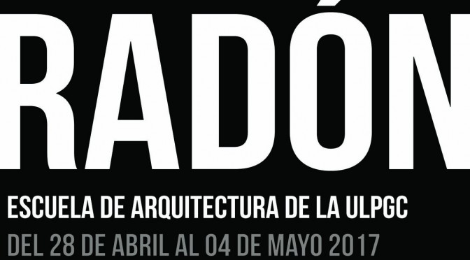 Jornadas del Radón en la Escuela de Arquitectura