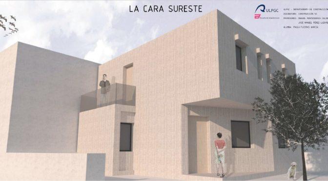 ESTUDIANTE DE LA ESCUELA DE ARQUITECTURA DE LA ULPGC, GANADORA DEL II PREMIO DE CONSTRUCCIÓN SOSTENIBLE EN HORMIGÓN